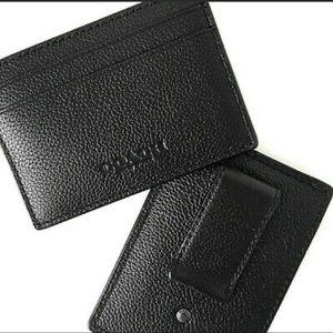 Coach Money Clip Card Case